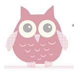Owl Birth Print Pink