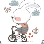 Childhood Boy Bunny